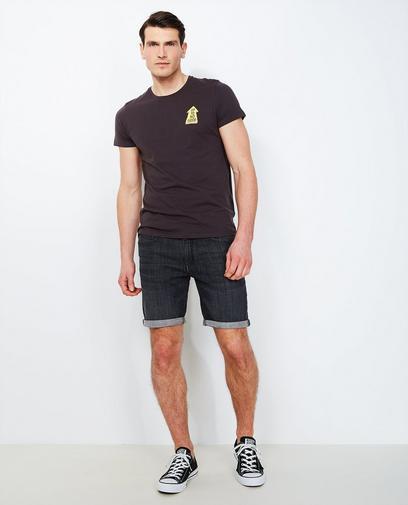 Zwarte jeansshort